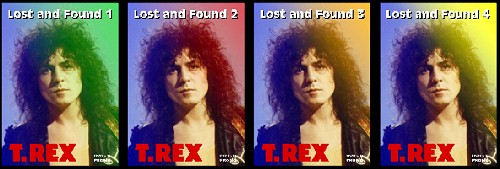 Marc Bolan - Lost And Found Volumes 1 - 4 now on DVD